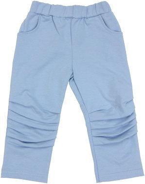 Mamatti Bavlněné tepláčky, kalhoty Boy - modré, vel. 98