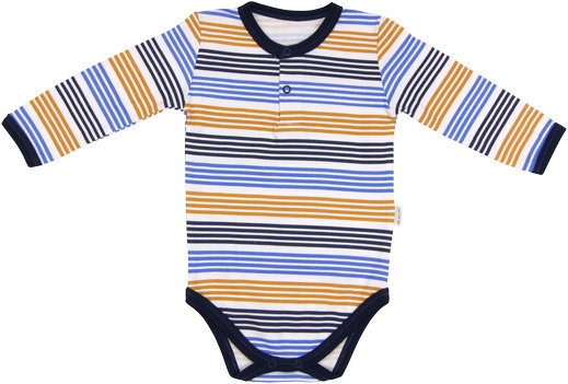 Kojenecké body/polo Boy - dlouhý rukáv, vel. 92, Velikost: 92 (18-24m)