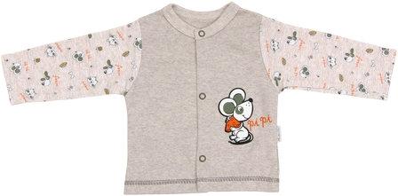 Bavlněná košilka Pet´s - vel. 80, Velikost: 80 (9-12m)