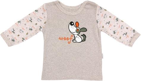 Bavlněné tričko Pet´s - dlouhý rukáv, vel. 86, Velikost: 86 (12-18m)