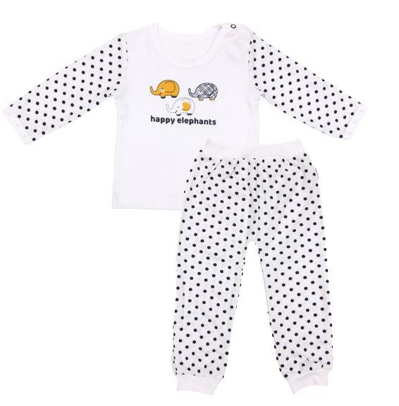 Bavlněné pyžamko Elephant