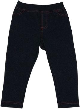 Bavlněné jednobarevné legíny - jeans, vel. 92
