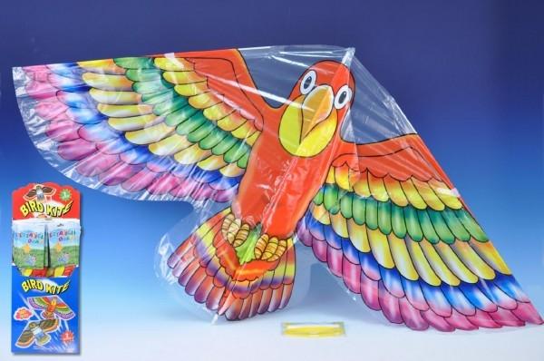 Drak létající plast 62x118cm asst 2 druhy