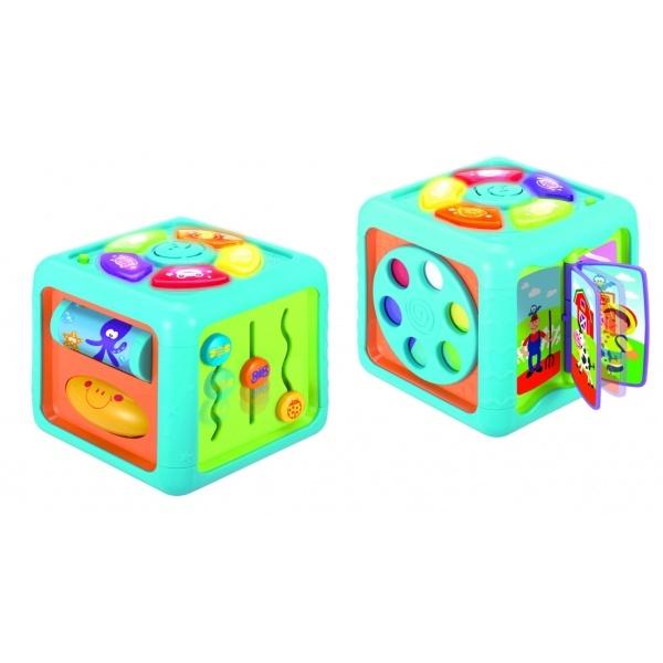 Vzdělávací kostka maxi Smily Play, 4 x 20 cm
