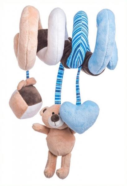 Interaktivní plyšová spirála  Lumpin - Medvídek modrý