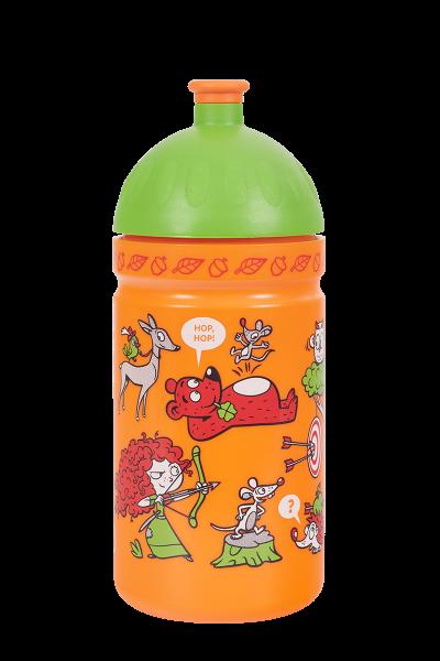 Zdravá láhev - 0.5l - Rebelka, oranžová