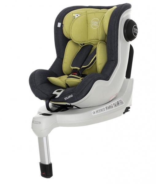 Coto Baby Autosedačka Solario Melange 2018 - 0-18 kg, Olive