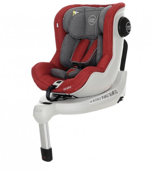 Autosedačka Solario Melange 2018 - 0-18 kg, Red