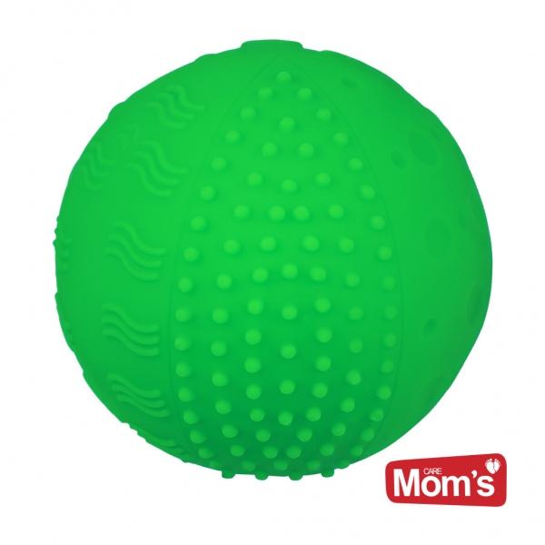 Edukační pískací míček, 10x10cm  - zelený