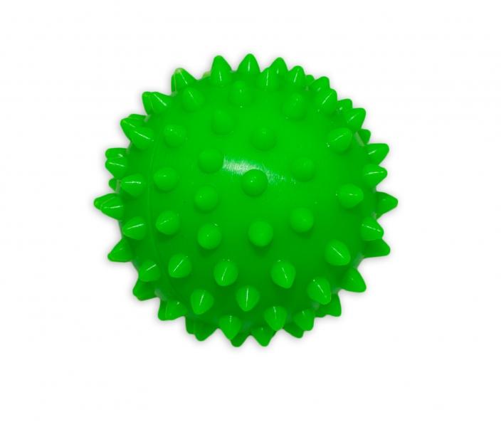 Masážní míček, 7x7cm - zelený