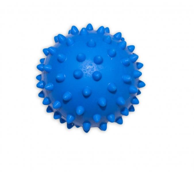 Masážní míček, 7x7cm - modrý