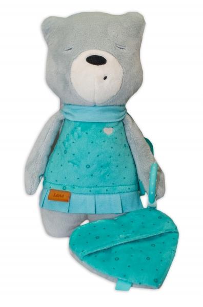 Szumisie Šumící mazlíček Medvídek Lena 33 cm - Snímač spánku