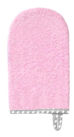 BabyOno Žínka froté - růžová
