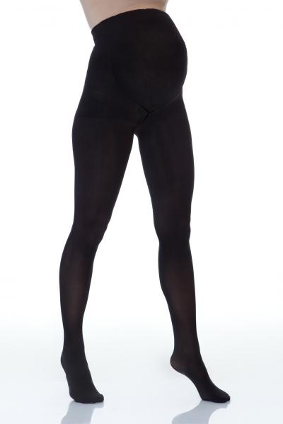 Lida  Těhotenské neprůhledné silonky, 60 den - černé, vel. XL