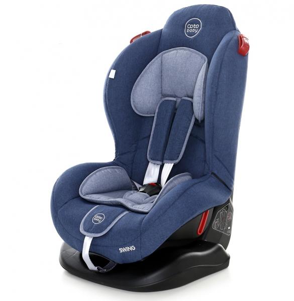 Autosedačka Coto Baby Swing 9-25kg. 2018 - Blue Melange