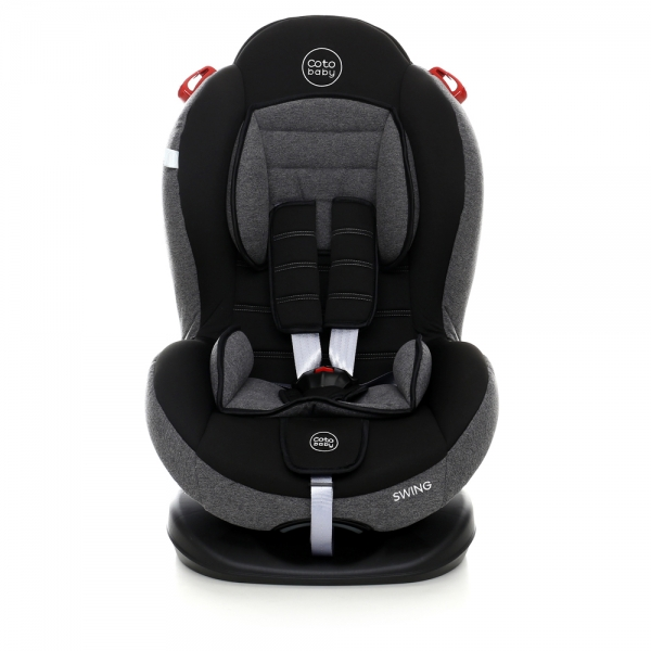 Autosedačka Coto Baby Swing 9-25kg, 2020 - tm. šedá, melír