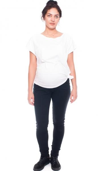 Be MaaMaa Těhotenské tepláky/kalhoty Tommy, černé, vel. S