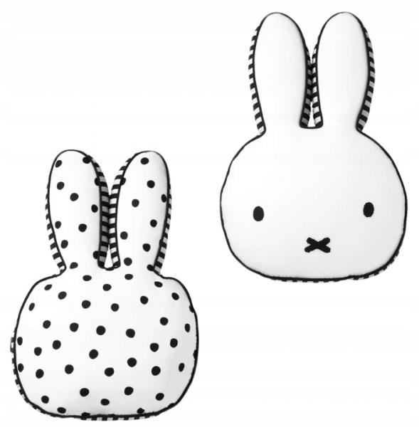 Polštářek králiček Miffy - dekorační polštářek, 40x27cm - 1ks