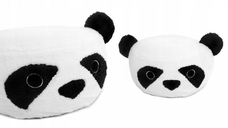 Plyšový bobek, křesílko Animal, 60x30cm - Panda