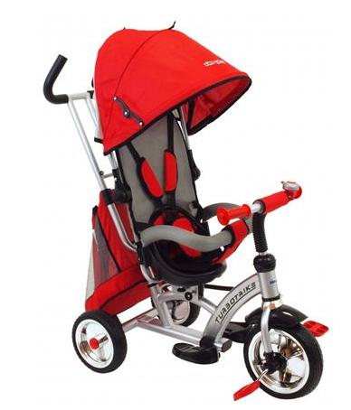 Dětská tříkolka Turbo Trike 360 - červená
