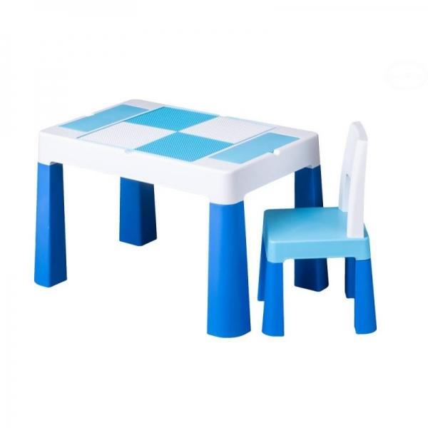Sada nábytku pro děti Multifun - stoleček a židlička - modrá