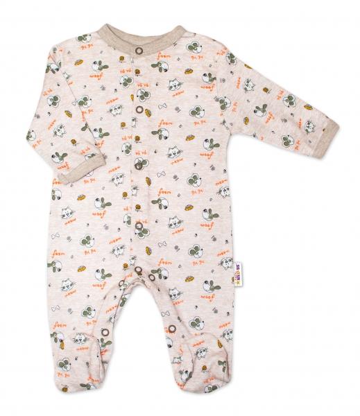 Výhodné balení 3ks - kojenecký overál - kluk, vel. 68