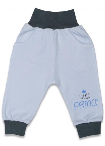 Bavlněné tepláčky, Malý Princ - modré, vel. 68, Velikost: 68 (4-6m)