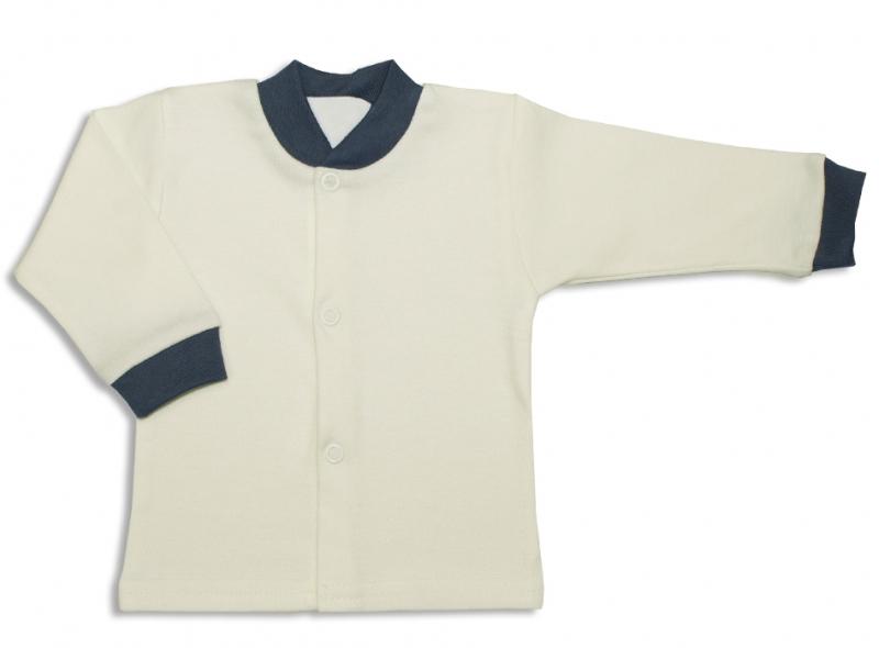 Bavlněná kojenecká košilka, Malé Štěstí - žluté