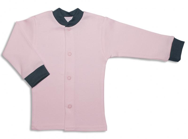 Bavlněná kojenecká košilka, Malá Princezna - růžová