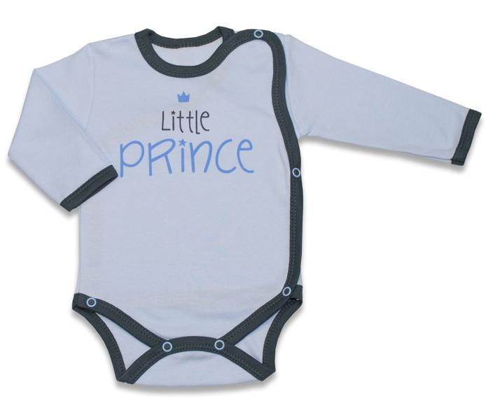Body dlouhý rukáv, zapínání bokem Malý Princ - sv. modré, vel. 62, Velikost: 62 (2-3m)