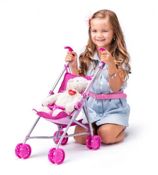 Woody Sportovní kočárek  pro panenky s jednorožcem