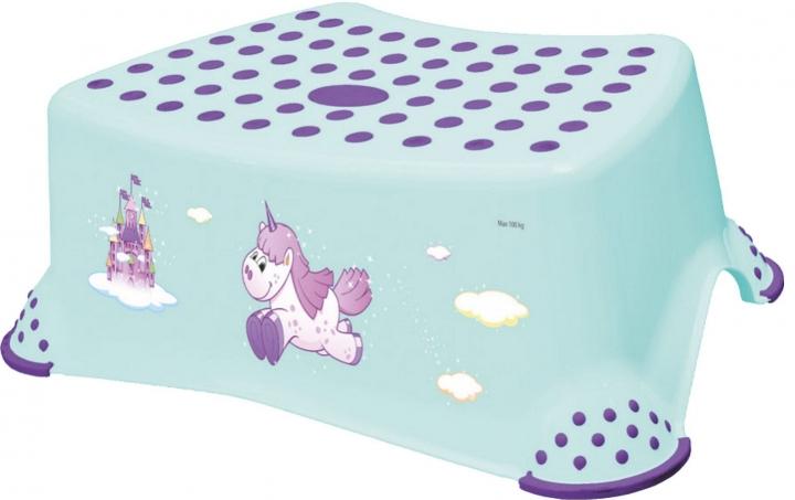 Stolička, schůdek s protiskluzovou funkcí  - Unicorn