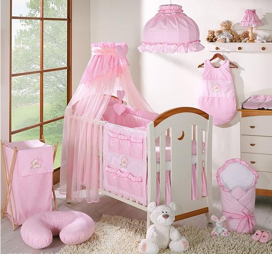 Luxusní mega set s výšivkou Š - LOVE růžový