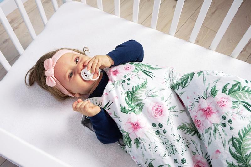 Baby Nellys Bavlněný spací vak Závody šedé, 48x80cm