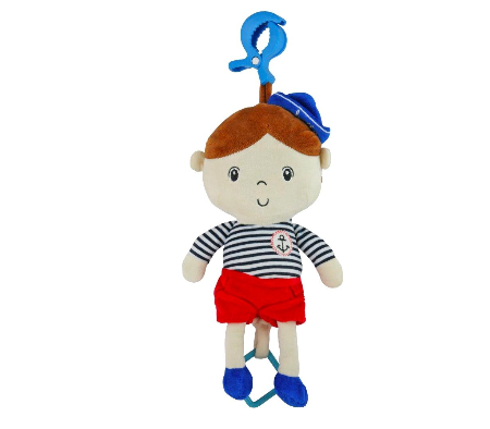 Závěsná hračka s melodií Námořník - Chlapeček