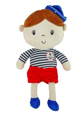 Edukační plyšová panenka Námořník - Chlapeček