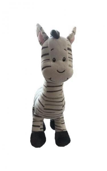 Tulilo Plyšová Zebra, 33 cm, K19