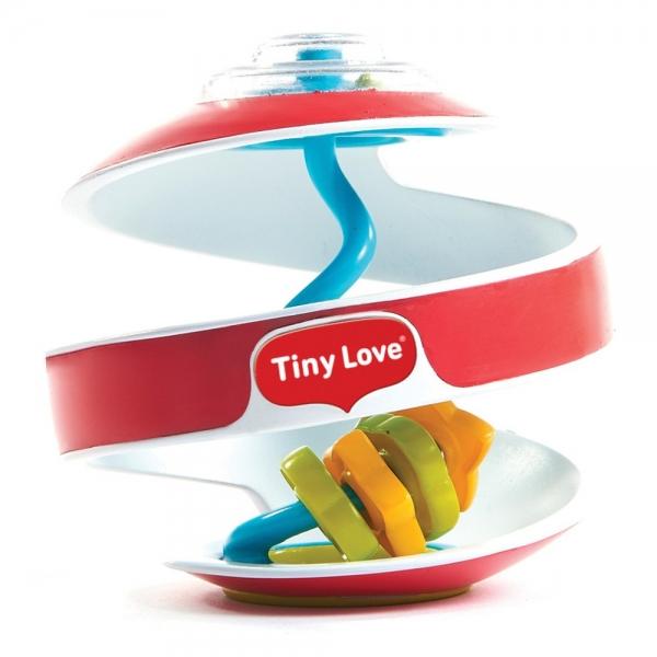 Tiny Love Senzorická spirálka inspiral Labyrint - červená