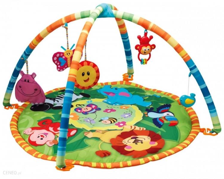 Smily Play Vzdělávací hrací deka, podložka Džungle
