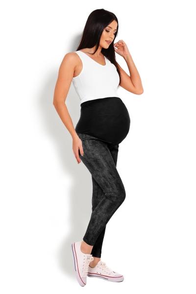 Těhotenské legíny - černé 05ada325d2