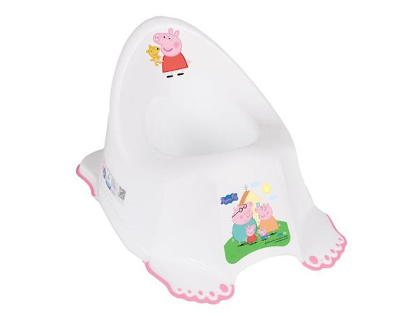 Tega Baby Hrající nočník Prasátko Peppa s tlapkami - růžový