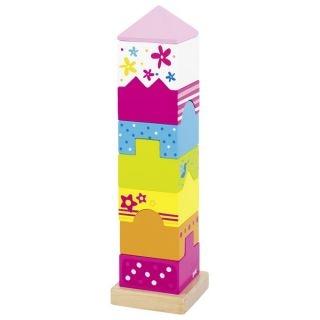 Goki Dřevěná věž z kostek, hlavovolam Susibelle