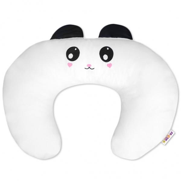 Baby Nellys Kojící polštář/podkova s oušky - Panda