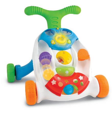 Smily Play Dětské interaktivní chodítko s míčky