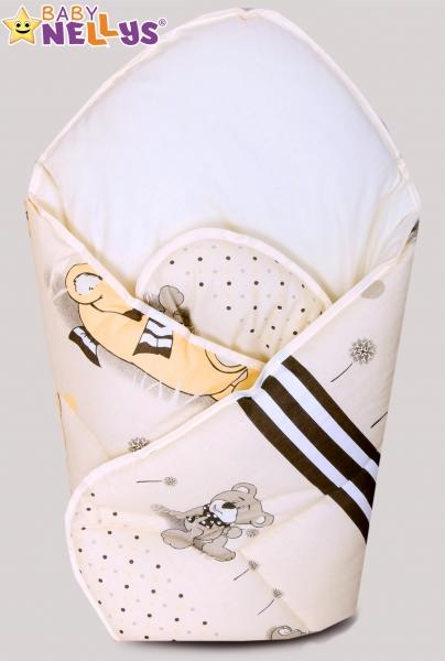 Novorozenecká zavinovačka, 75x75cm - Snílek - béžový