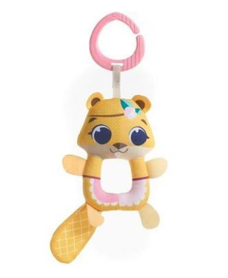 Tiny Love Závěsná hračka s chrastítkem, 19cm - Bobr Albertina