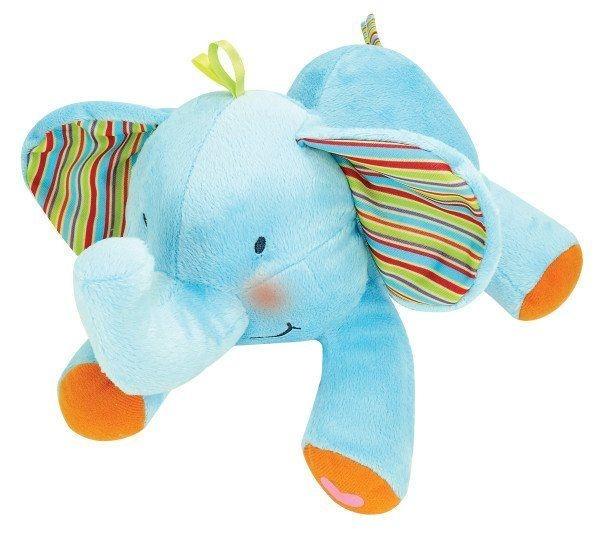 Plyšový usínáček Sloník - modrý