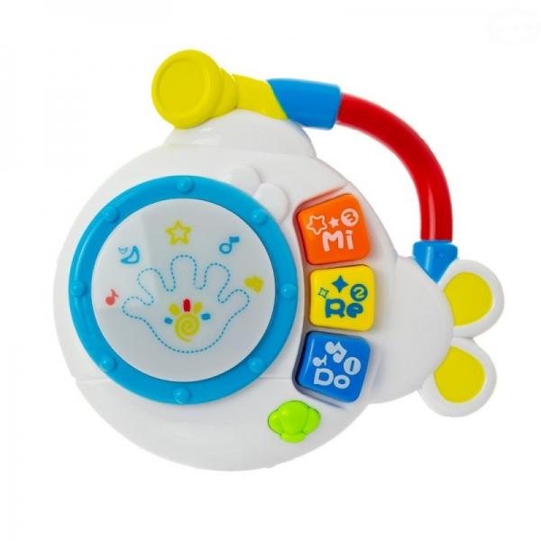 Euro Baby Interaktivní hračka s melodií bubínek - Ponorka