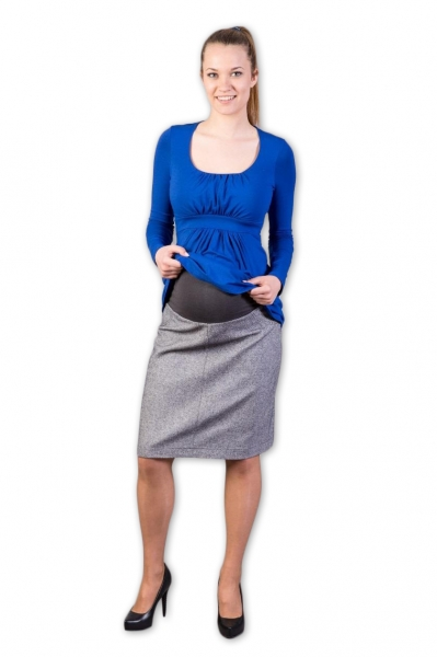 Těhotenská vlněná sukně Tofa, Velikost: XS (32-34)