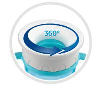 Canpol babies Hrníček 360° Jungle  - Plameňáci